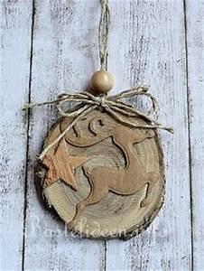 Basteln Mit Baumscheiben : weihnachtsbasteln mit holz nat rliche weihnachtsbaumanh nger aus baumscheiben 2 ~ Watch28wear.com Haus und Dekorationen