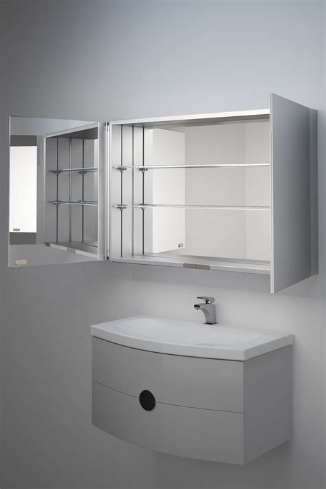 Small Illuminated Bathroom Mirrors by Non Illuminated Bathroom Mirror Cabinet K139 Ebay