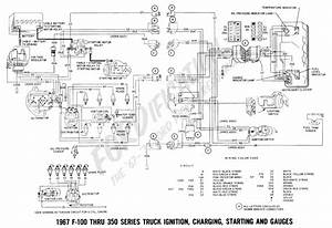 1969 Ford F100 F350 Ignition Starting Charging And Gauges Wiring Diagram All About Wiring