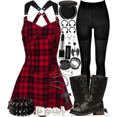 Grunge / Rock Winter Outfits For Women 2018   FashionGum.com