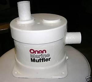 Onan Aqualift Style Marine Muffler Kit 155