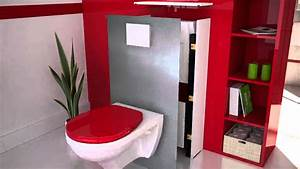 magispace fr l39habillage deco amovible youtube With idee deco pour toilette