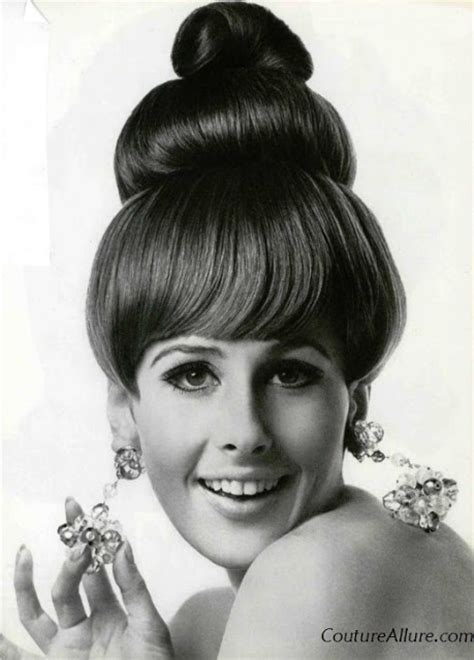 60s Fashion Hairstyles by Couture Vintage Fashion Vintage Hairstyles For