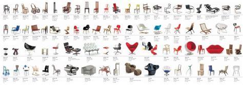designer de chaise celebre meubles design miniatures