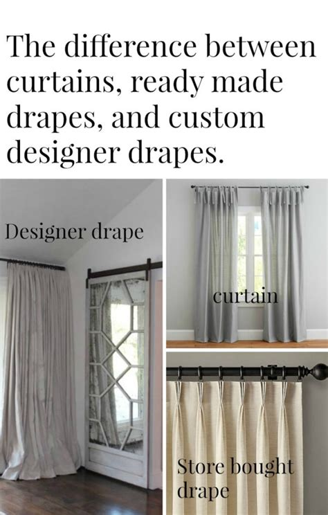 difference between a curtain and drapes decorate the