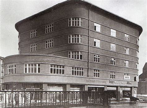 Berlin, Rekonstruktion Des Scheunenviertels, Hans Poelzig