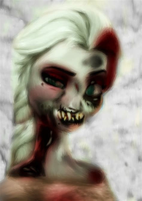 elsa zombie twin sword trading
