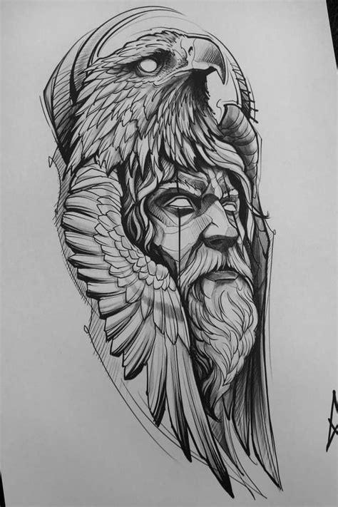 eagle head sketch tattoo | Tattoo sketches, Tattoos, Eagle