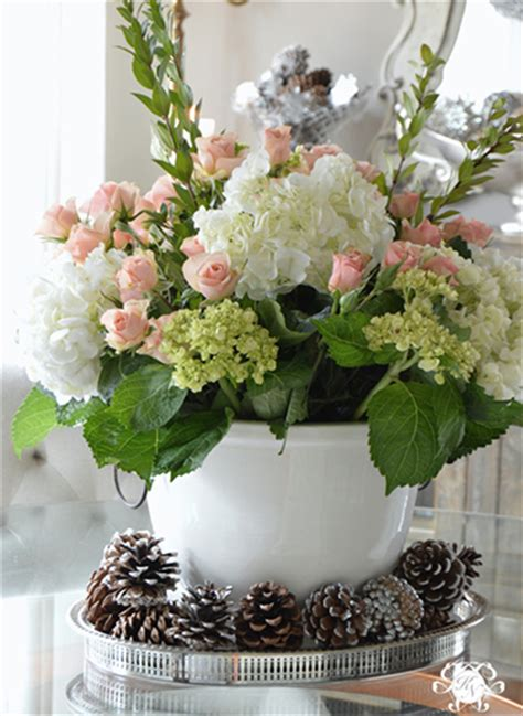 simple steps  create  grand flower arrangement kelley