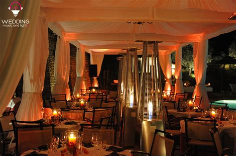 Illuminazione Gazebo illuminazione gazebo matrimonio wedding tent lighting 4