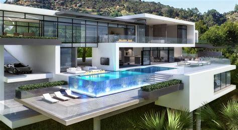luxury modern mansion house plan house plans