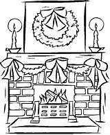 Fireplace Coloring Christmas Drawing Pages Printable Fire Stable Template Colour Podobny Obraz Yeti Xmas Getdrawings Drawings Fireplaces Sketch Kolorowanki Getcolorings sketch template