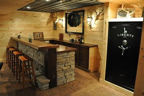 basement bar decorating ideas rustic finished basement