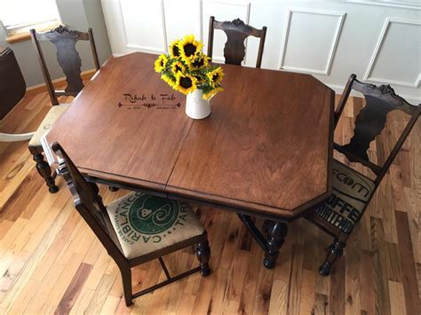 Spiced Walnut and Light Oak Liquid Oil Based Stain Dining
