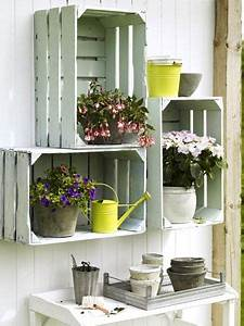 Gartenregal Selber Bauen : regal selber bauen 11 diy projekte ordnung garten shabby chic und balkon ~ Orissabook.com Haus und Dekorationen