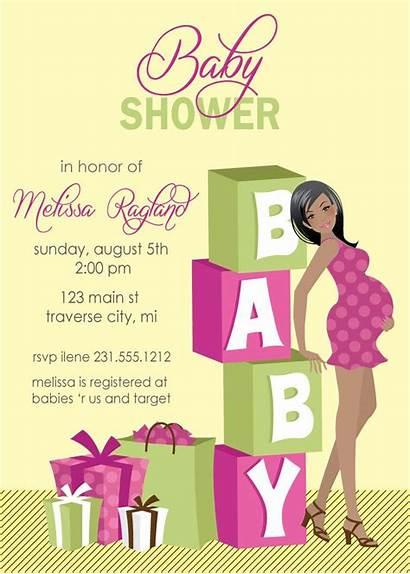 Shower Invitations Neutral Templates Graceful Appearance Disimpan