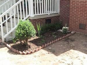 My, Work, Brick, Around, Flower, Beds