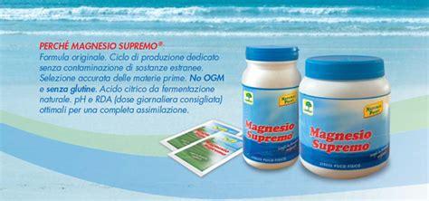 Magnesio Supremo Dosi by Magnesio Supremo Di Point 150 Grammi 14 13