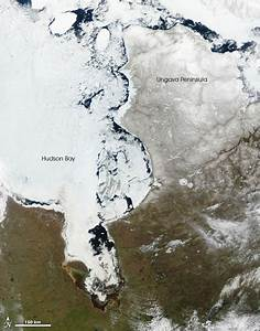 Thawing Ice on Hudson Bay : Image of the Day