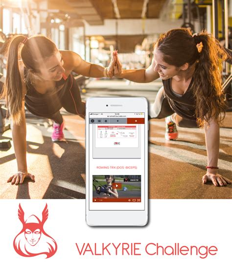 jours fitness challenge application