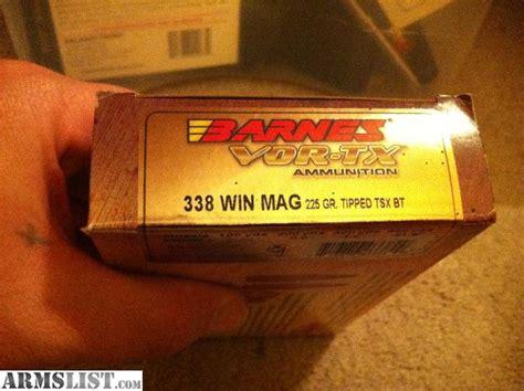 338 Win Mag Barnes Vor-tx