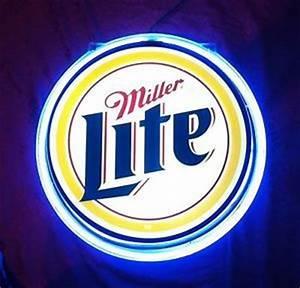 Houston Oiler Helmet Miller Lite Neon Sign Classic Sign