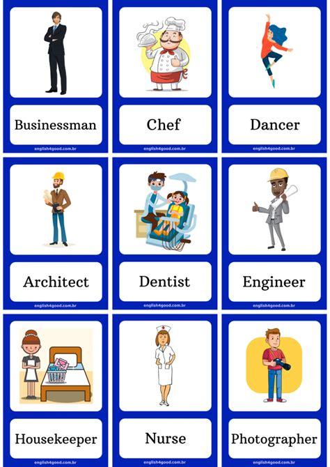 occupations english  good