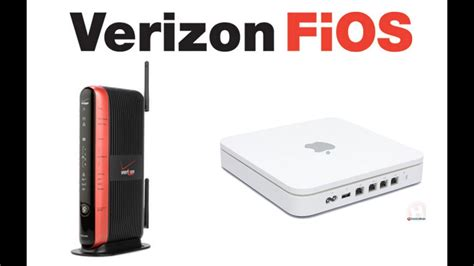 Set Up Apple Time Capsule Or Airport With Verizon Fios