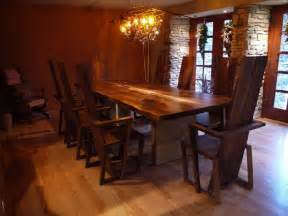 Custom Wood Dining Room Tables