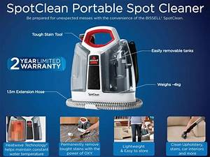 Bissell Spotclean Portable Spot Cleaner  Amazon Co Uk
