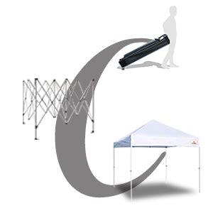 amazoncom keymaya ez commercial instant tent heavy duty pop  canopy shelter bonus weight