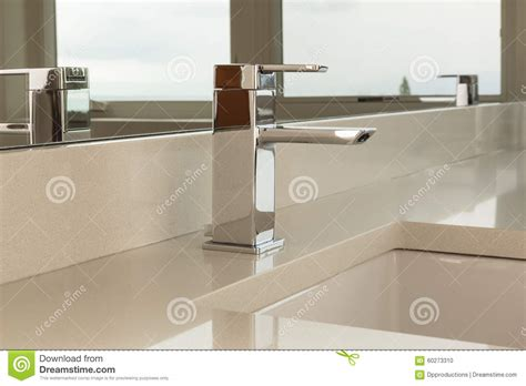 which side is water on a sink side view of sink and faucet stock photo image 60273310
