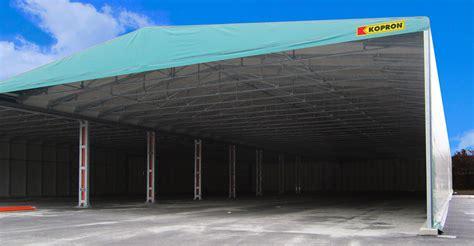 kopron capannoni capannoni mobili in pvc kopron per plastipol