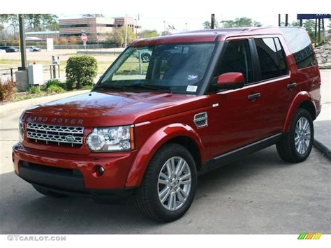 red land rover old rimini red metallic 2011 land rover lr4 hse exterior photo