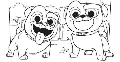 bingo  rolly coloring page activity disney family