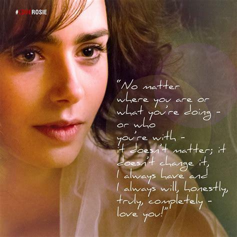 love rosie book quotes quotesgram