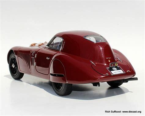 1938 Alfa Romeo 8c 2900 B Speciale Touring Coupe Diecast