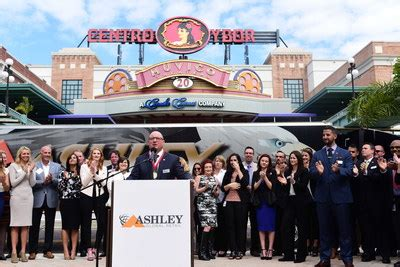 ashley global retail opens award winning facility  ybor city