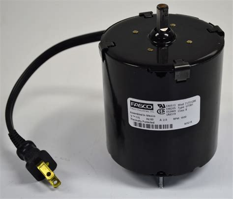 Electric Motor Purchase by Fasco U73b1 Electric Motor 115v 60 Hz 2 0 A 1600 Rpm 3