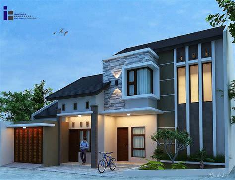gambar desain rumah minimalis modern tampak depan rumah