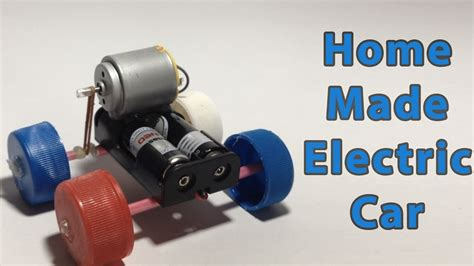 How To Make Electric Car by How To Make A Simple Electric Car At Home