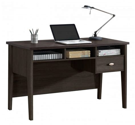 Two Tone Color Contemporary Home Office Writing Desk Wd