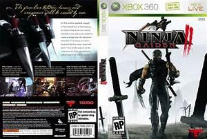 Ninja Gaiden II XBOX 360 Game Covers Ninja Gaiden 2