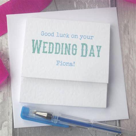 good luck   wedding day popping card  paperbuzz