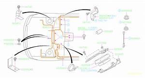 2003 Subaru Baja Engine Control Module Bracket