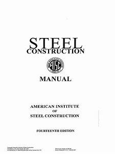 Get  Aisc Steel Construction Manual 14th Edition   Ansi