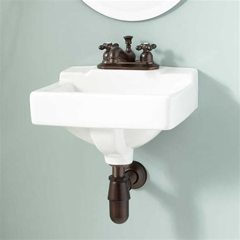 Wall Mount Sink by Porcelain Wall Mount Bathroom Sink Home