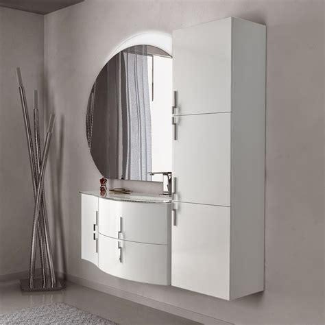 Mobile Bagno 100 Cm by Mobile Bagno 100 Cm Sospeso Con Colonna E Specchio Led