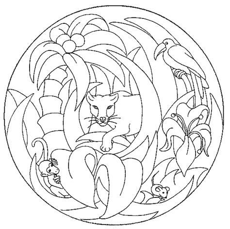 Kleurplaat Mandala Dier by Mandala Kleurplaten Dieren