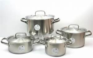 Induktion Töpfe Wmf : wmf topfset gourmet plus 4 tlg edelstahl kochtopfset induktion neu ebay ~ Watch28wear.com Haus und Dekorationen